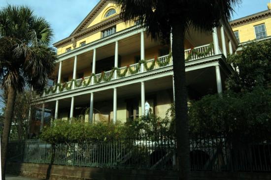 Aiken-Rhett House at Christmas