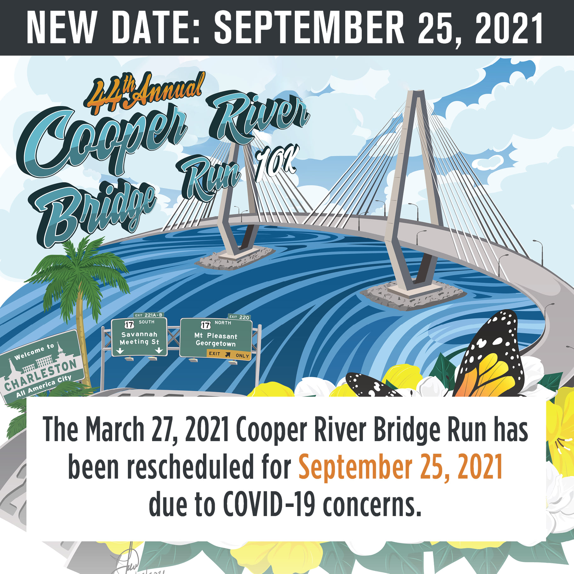 Cooper River Bridge Run 2021