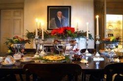 Edmonston-Alston House at Christmas