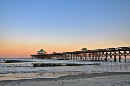 Charleston sc beaches the top charleston beaches for Isle of palms fishing pier