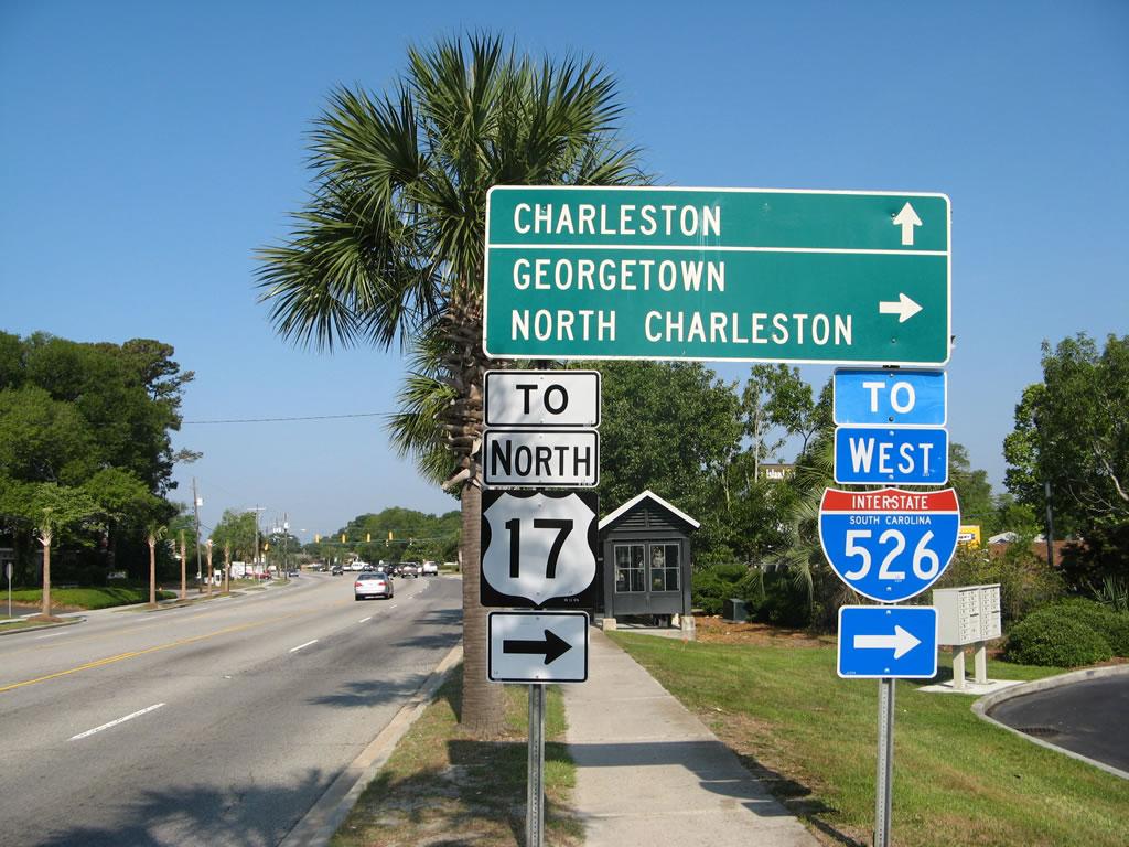 Charleston Travel by car