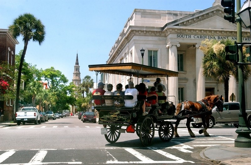 Charleston SC Horse-Drawn Carriage Ride