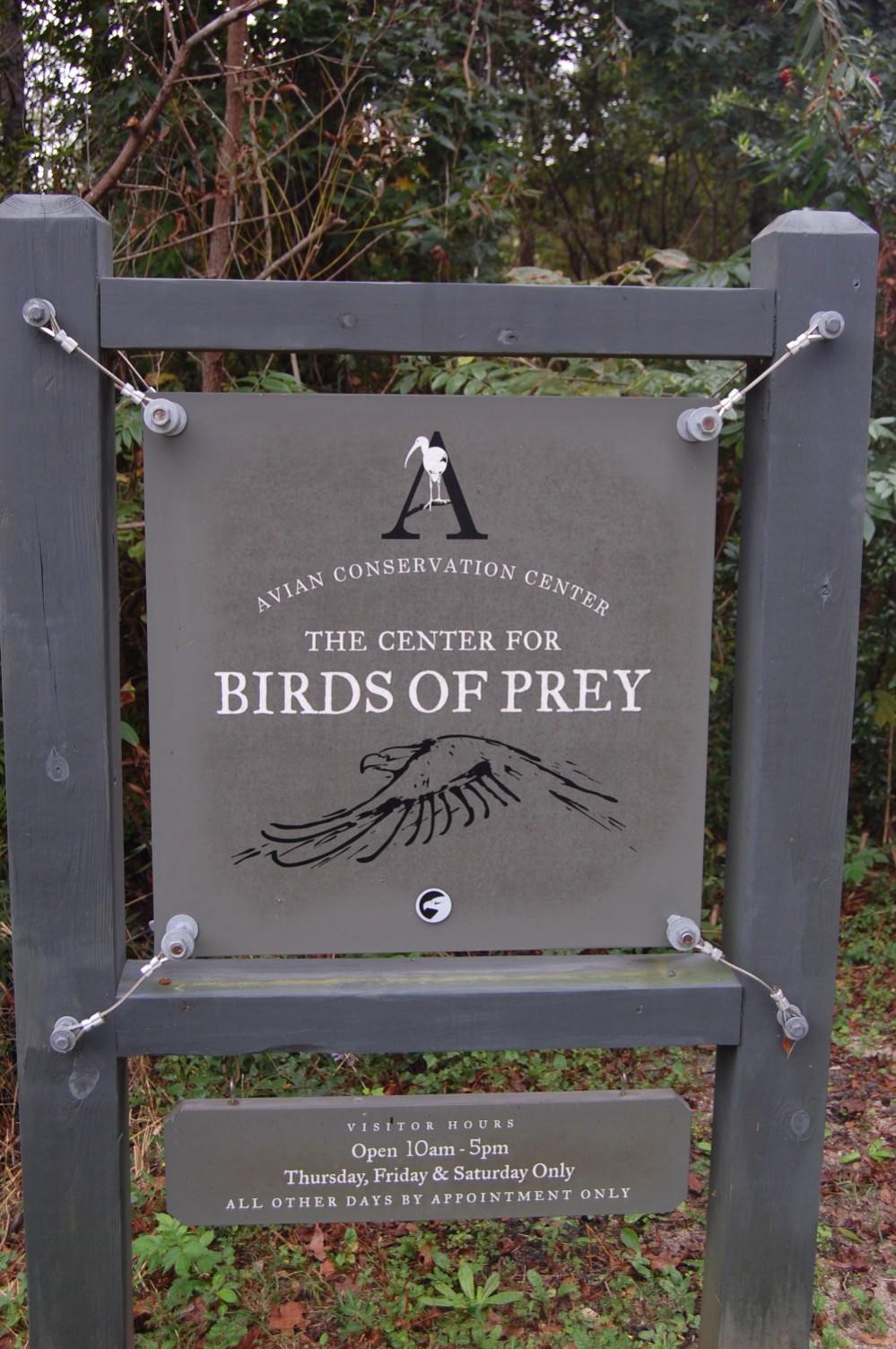 Center for Birds of Prey Charleston