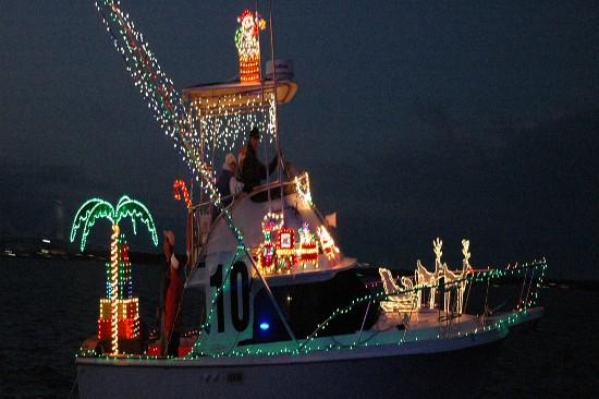 Holiday Parade of Boats