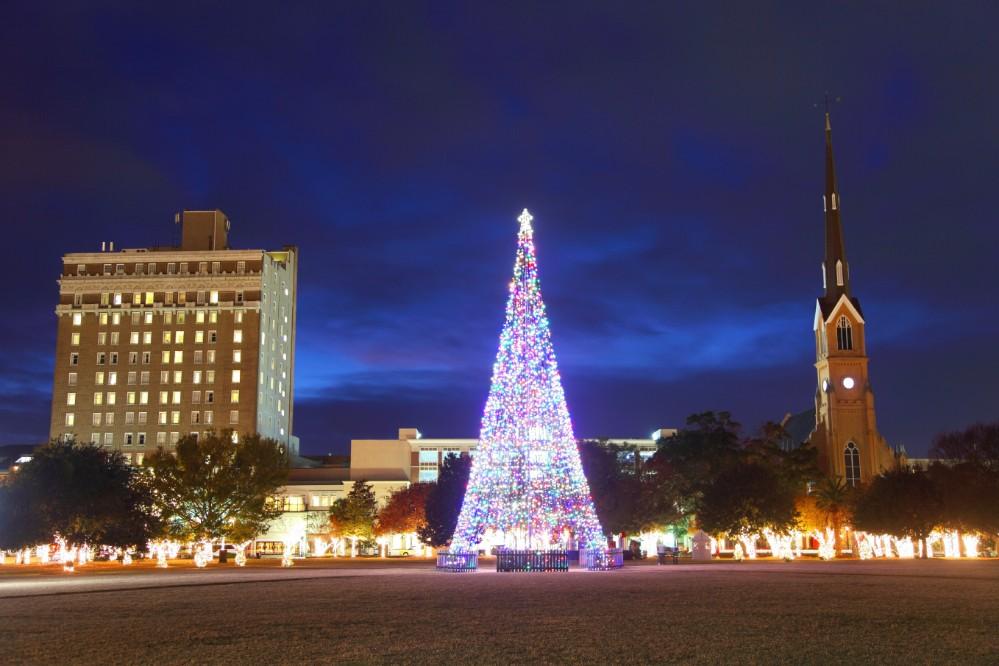 Charleston Tree Lighting