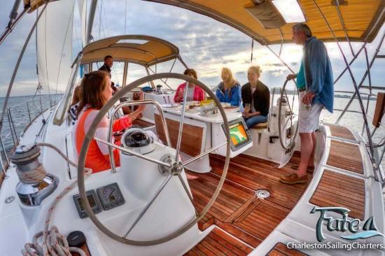 Charleston Sailing Charters - Fate