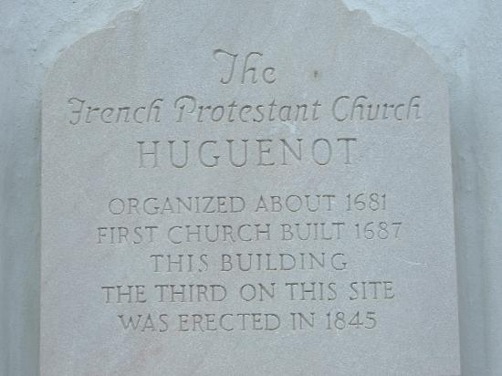 French Huguenot Church Charleston SC
