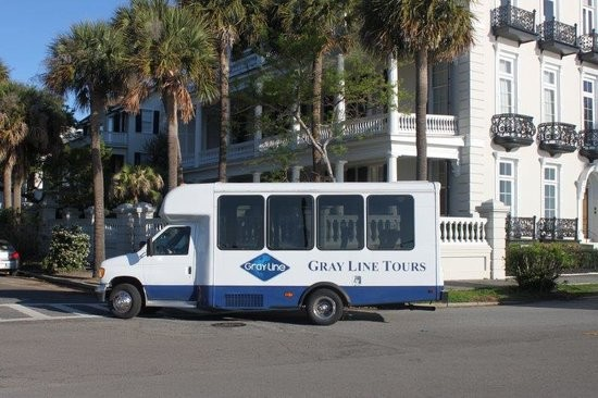Gray Line of Charleston Tour Bus