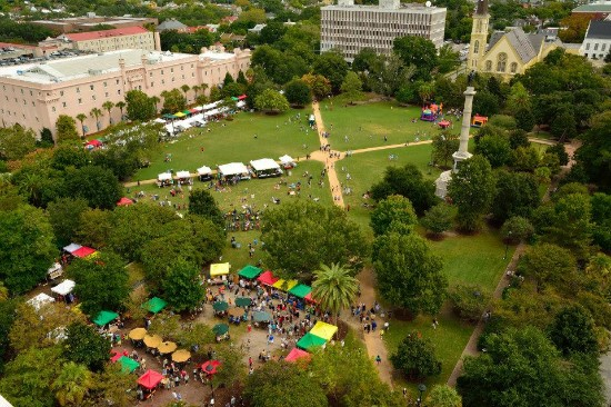 The Charleston Farmers Market/Marion Square Park