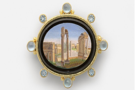 A Return to the Grand Tour: Micromosaic Jewels from the Collection of Elizabeth Locke at Gibbes