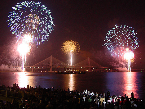 Carolina Beach Fireworks July