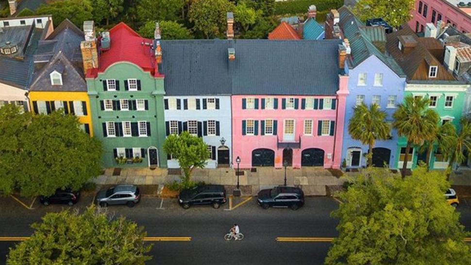 Rainbow Row Charleston 2019 Charleston Visitors Guide