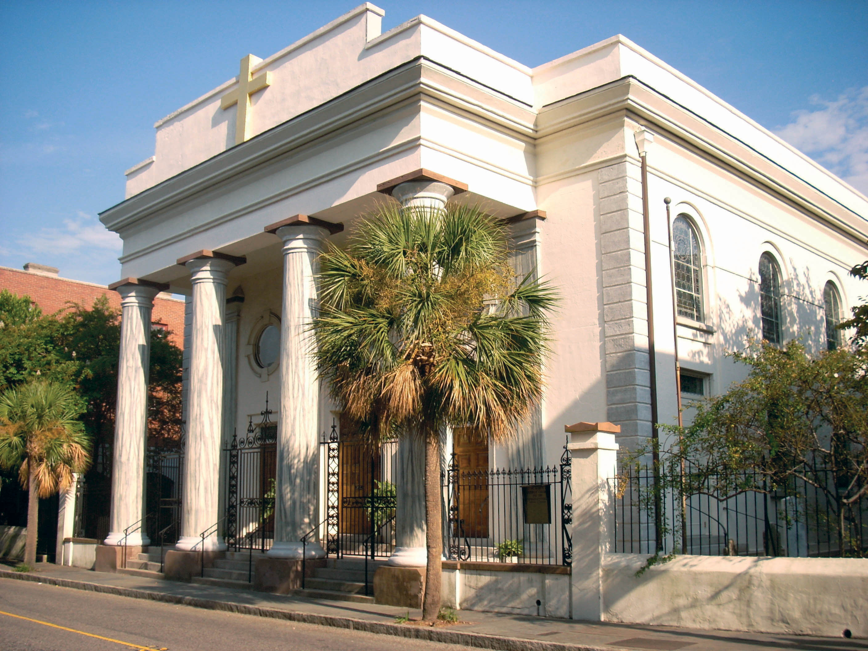 Charleston sc historic churches   a guide to historic charleston ...