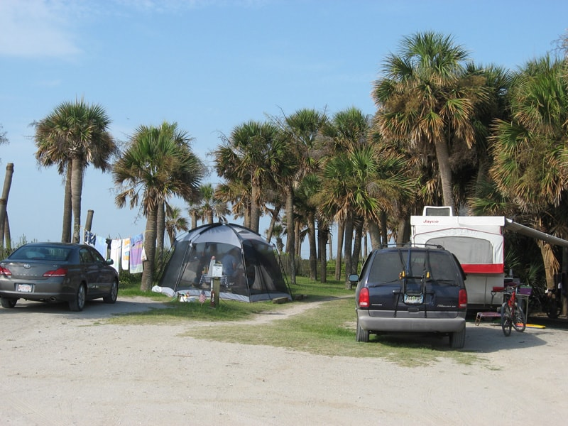 Charleston SC Campgrounds