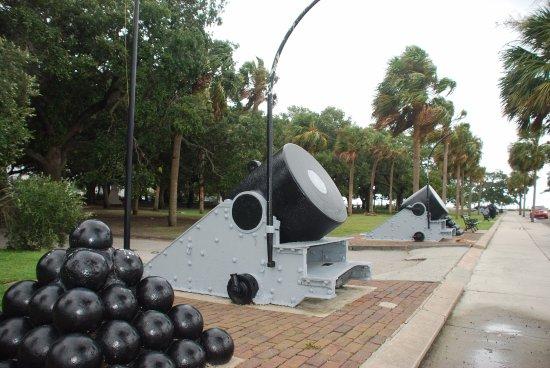 Charleston Battery and White Point Gardens