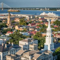 Charleston South Carolina Church Steeples