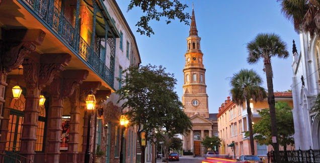 Downtown Charleston South Carolina